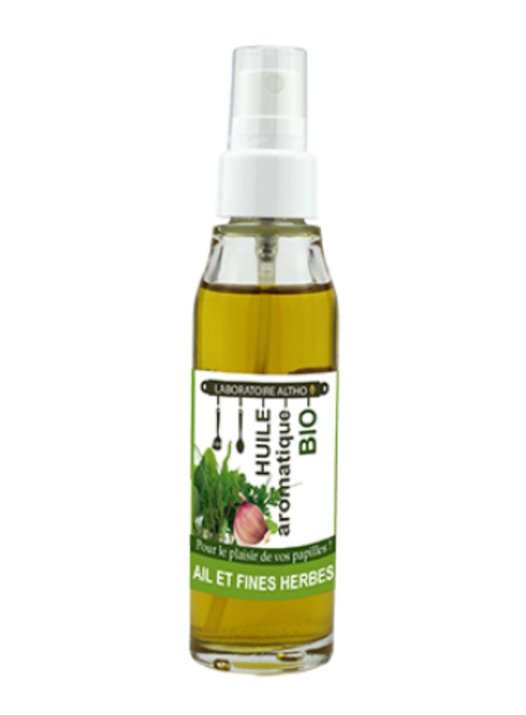 Garlic & Fine Herbs -Organic Cooking Oil 50ml