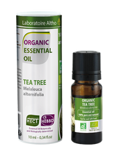 Load image into Gallery viewer, Tea Tree Melaleuca Alternifolia - Certified Organic Essential Oil,10ml buy in Ireland Organic aromatherapy online health and wellness store Laboratoire ALTHO