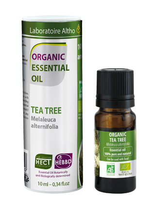Tea Tree Melaleuca Alternifolia - Certified Organic Essential Oil,10ml buy in Ireland Organic aromatherapy online health and wellness store Laboratoire ALTHO