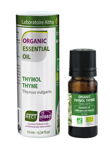 Thyme - Certified Organic Essential Oil, 10ml