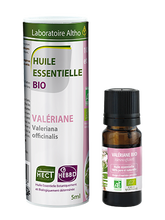Load image into Gallery viewer, Valerian Essential Oil - ease stress and anxiety. Diffuse Valerian Essential Oil. Laboratoire ALTHO Essential oils in Ireland