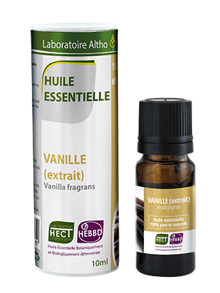 Vanilla - Certified Organic Essential Oil,10ml buy in Ireland Organic aromatherapy online health and wellness store