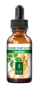 Ginseng Organic plant supplement by Laboratoire ALTHO available to buy in Ireland. Organic Aromatherapy and plant based skincare