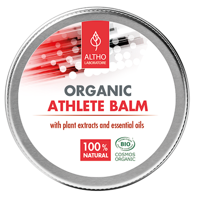 Muscular joint balm. This muscle rub is made from natural plant oils to soothe tired muscles. Made by Laboratoire ALTHO. Available to buy now in Ireland