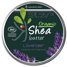 Load image into Gallery viewer, Shea Butter infused with Lavender Essential Oil Aromatherapy Ireland Laboratoire ALTHO
