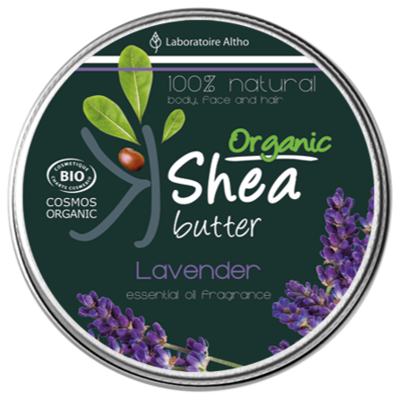Shea Butter infused with Lavender Essential Oil Aromatherapy Ireland Laboratoire ALTHO