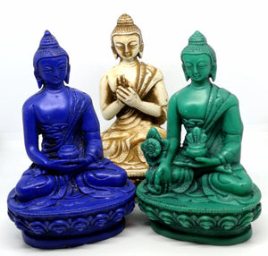 Buddha statue pose blessing protection medicinal turning the wheel health meditation buy in Ireland