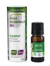 Load image into Gallery viewer, Buy Cajeput essential oil online in Ireland. Certified organic Cajeput essential oil for sale in Ireland. 100% undiluted pure organic essential oil Ireland. Aromatherapy oils Ireland. 5 star reviews.