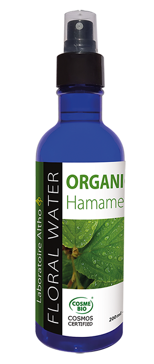Organic Witch Hazel Hydrosol Floral water from Laboratoire ALTHO. Available to buy now in Ireland from PurelyOrganic