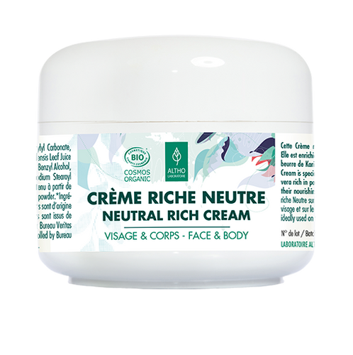 Organic Neutral Rich Cream for Face & Body, 200ml