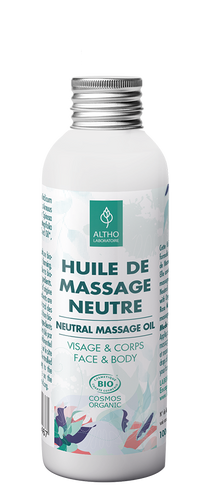 Neutral Massage Oil Base Certified Organic, 100ml