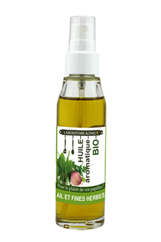 Garlic & Herb - Organic Cooking Oil 50ml