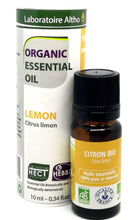 Load image into Gallery viewer, Organic Lemon Essential Oil 10ml Ireland