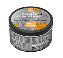 Load image into Gallery viewer, COSMOS Organic Massage Candle with Apricot, Grapefruit & Vitamin E, 100ml