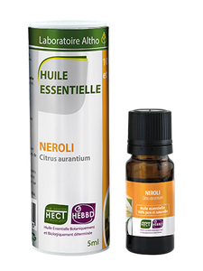 Neroli Citrus Aurantium - Certified Organic Essential Oil, 5ml buy in Ireland Organic aromatherapy online health and wellness store Laboratoire ALTHO