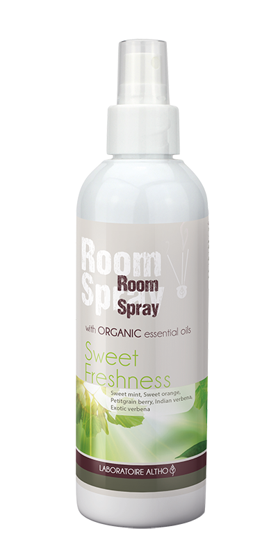 Sweet Freshness Organic Room Spray 200ml