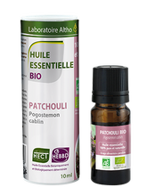 Load image into Gallery viewer, Patchouli Pogostemon Cablin - Certified Organic Essential Oil, 10ml buy in Ireland Organic aromatherapy online health and wellness store Laboratoire ALTHO
