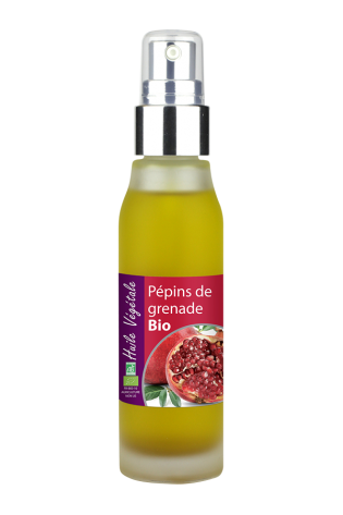 Pomegranate Seed - Organic Virgin Cold Pressed Oil, 50ml