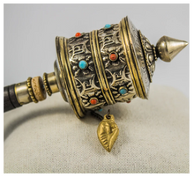 Load image into Gallery viewer, Tibetan Prayer Wheel  - Sound Therapy