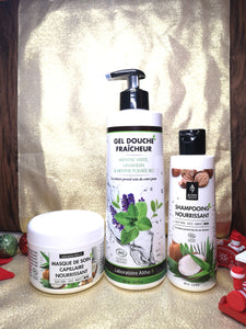 Organic Shampoo and Shower gel Christmas Gift Set from Laboratoire ALTHO available to buy in Ireland