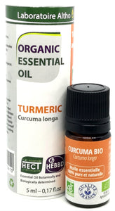 Turmeric - Certified Organic Essential Oil, 5ml buy in Ireland Organic aromatherapy online health and wellness store Laboratoire ALTHO
