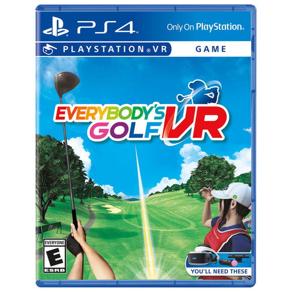 Everybody's Golf VR (Playstation 4 / PS4)