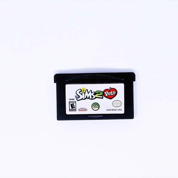 The Sims 2: Pets (Game Boy Advance / GBA)