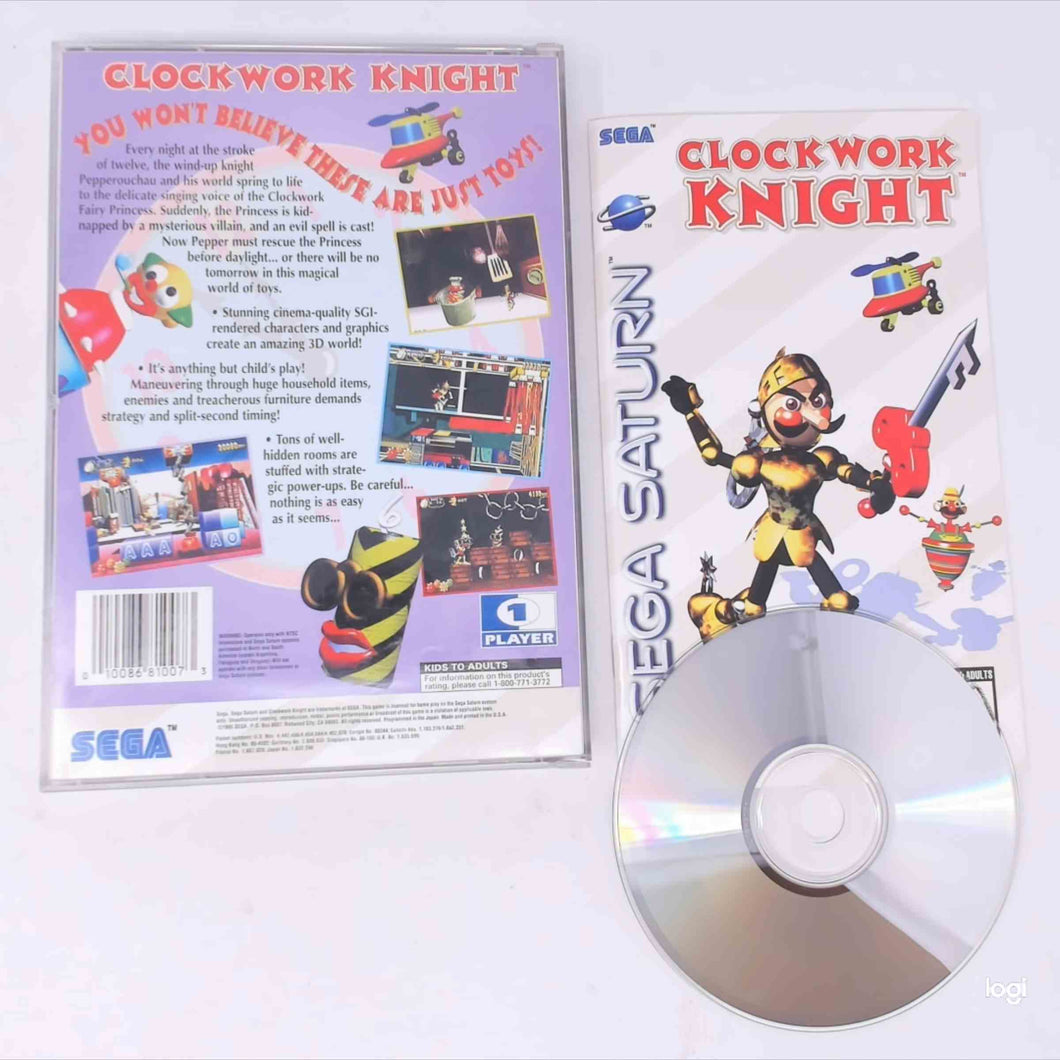 Clockwork Knight (Saturn)