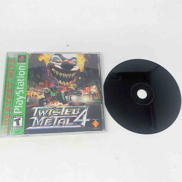 Twisted Metal 4 [Greatest Hits] (Playstation)