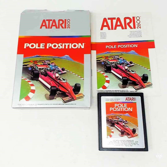 Pole Position [Silver Label] (Atari 2600)