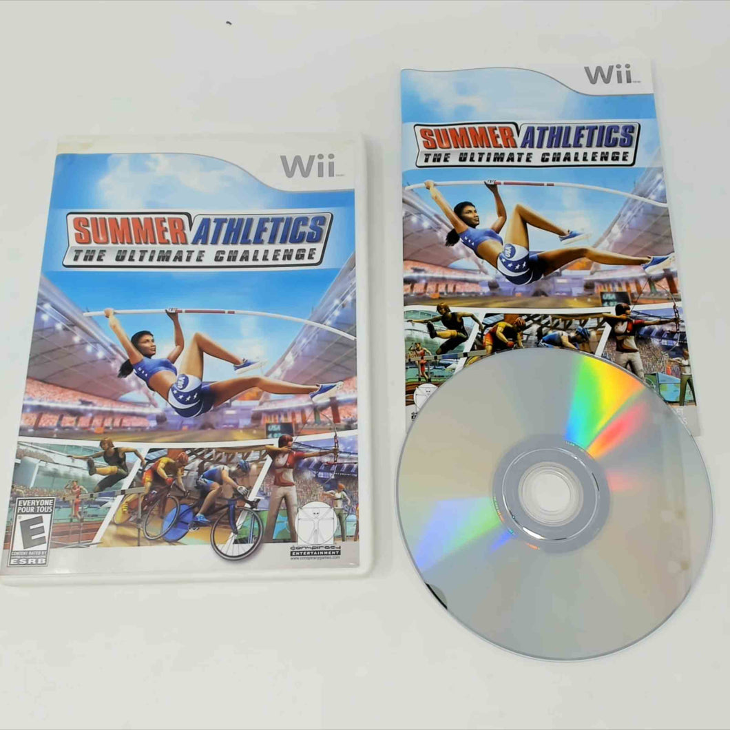 Summer Athletics The Ultimate Challenge (Wii)