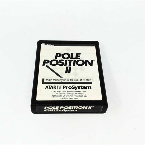 Pole Position II (Atari 7800)