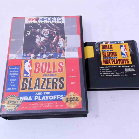 Bulls Vs Blazers and the NBA Playoffs (Genesis)