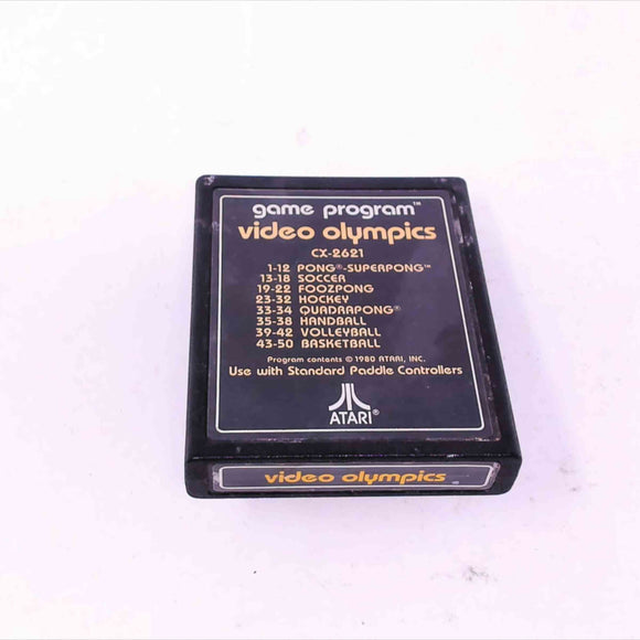 Video Olympics (Text Label) (Atari 2600)