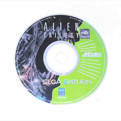 Alien Trilogy (Saturn)