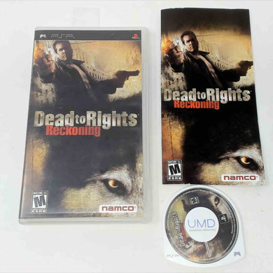Dead to Rights Reckoning (Playstation Portable / PSP)