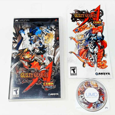 Guilty Gear XX Accent Core Plus (Playstation Portable / PSP)