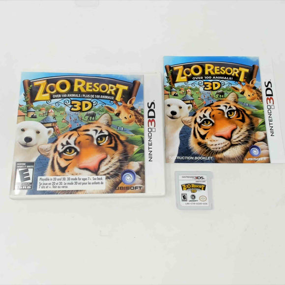 Zoo Resort 3D (Nintendo 3DS)