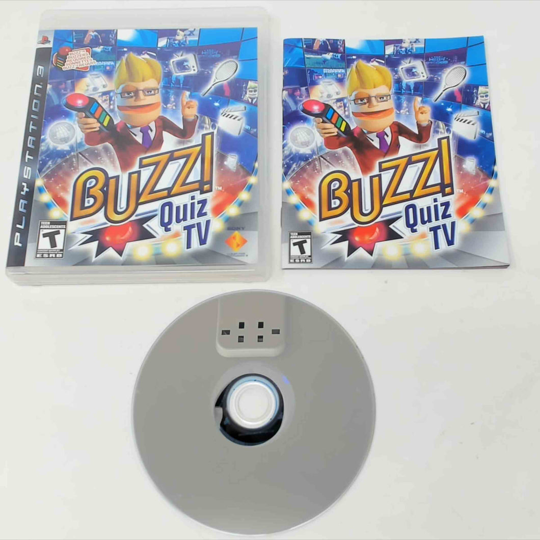 Buzz! Quiz TV (Playstation 3 / PS3)