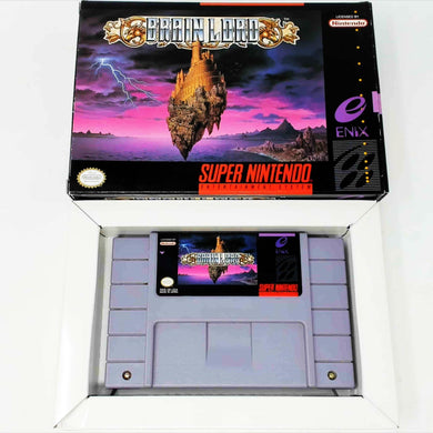 Brain Lord (Super Nintendo SNES)