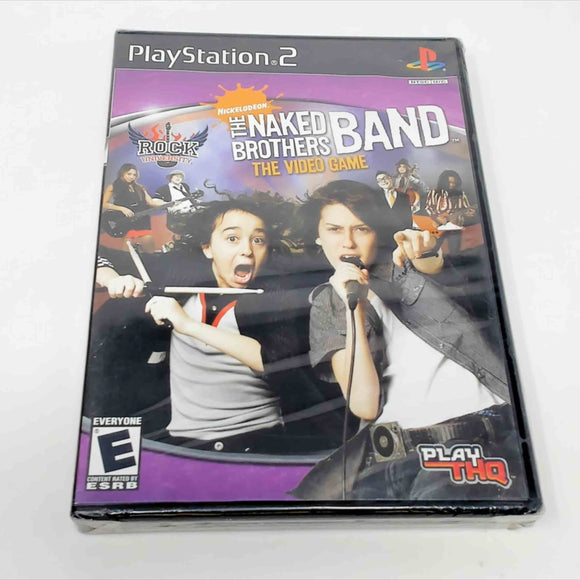Rock University Presents The Naked Brothers Band (Playstation 2 / PS2)