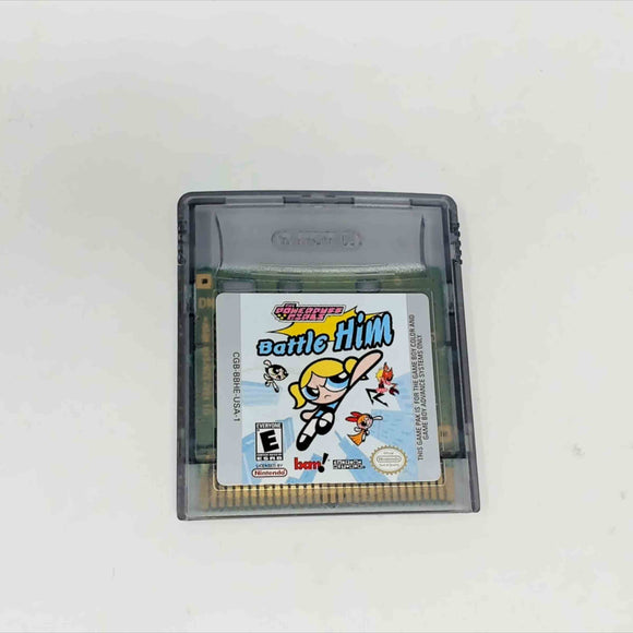 Powerpuff Girls Battle Him (Game Boy Color)