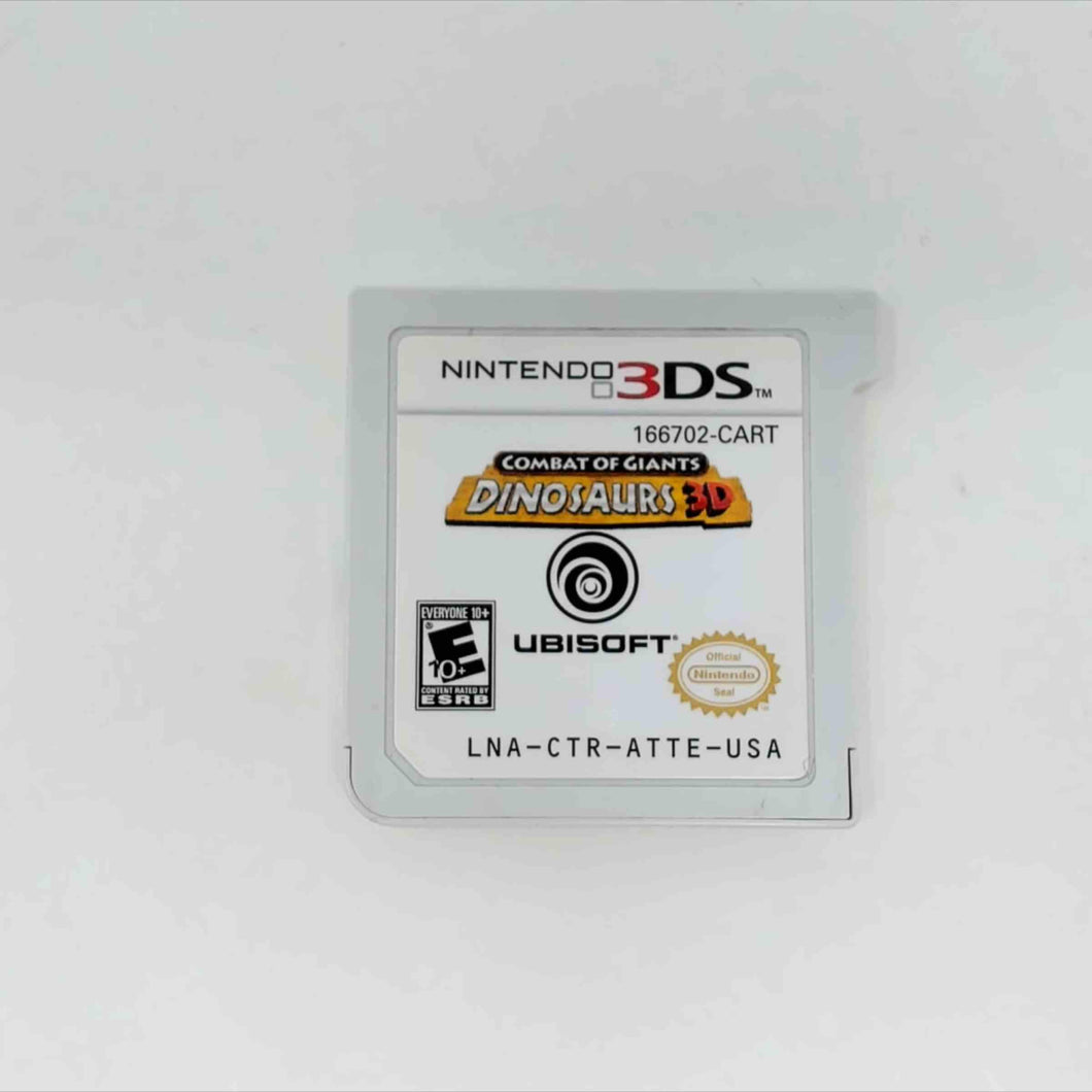 Combat of Giants: Dinosaurs 3D (Nintendo 3DS)