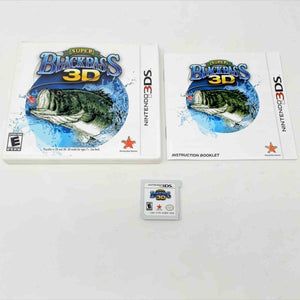 Super Black Bass 3D (Nintendo 3DS)