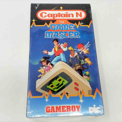 Captain N Gameboy VHS