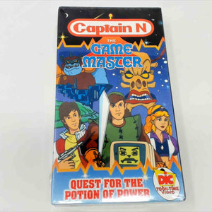 Captain N Quest of the potion of power VHS