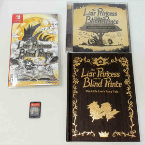 Liar Princess and the Blind Prince [Storybook Edition]  (Nintendo Switch)