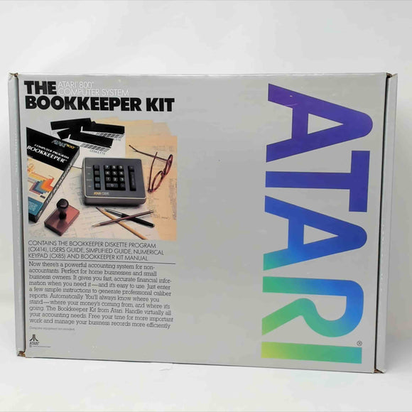 Atari 800 Bookkeeper kit