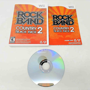 Rock Band Track Pack: Country 2 (Wii)