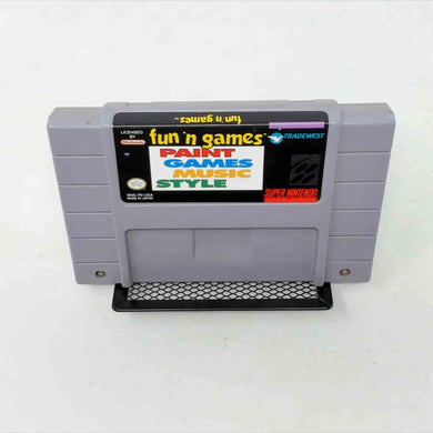 Fun 'n Games (Super Nintendo SNES)
